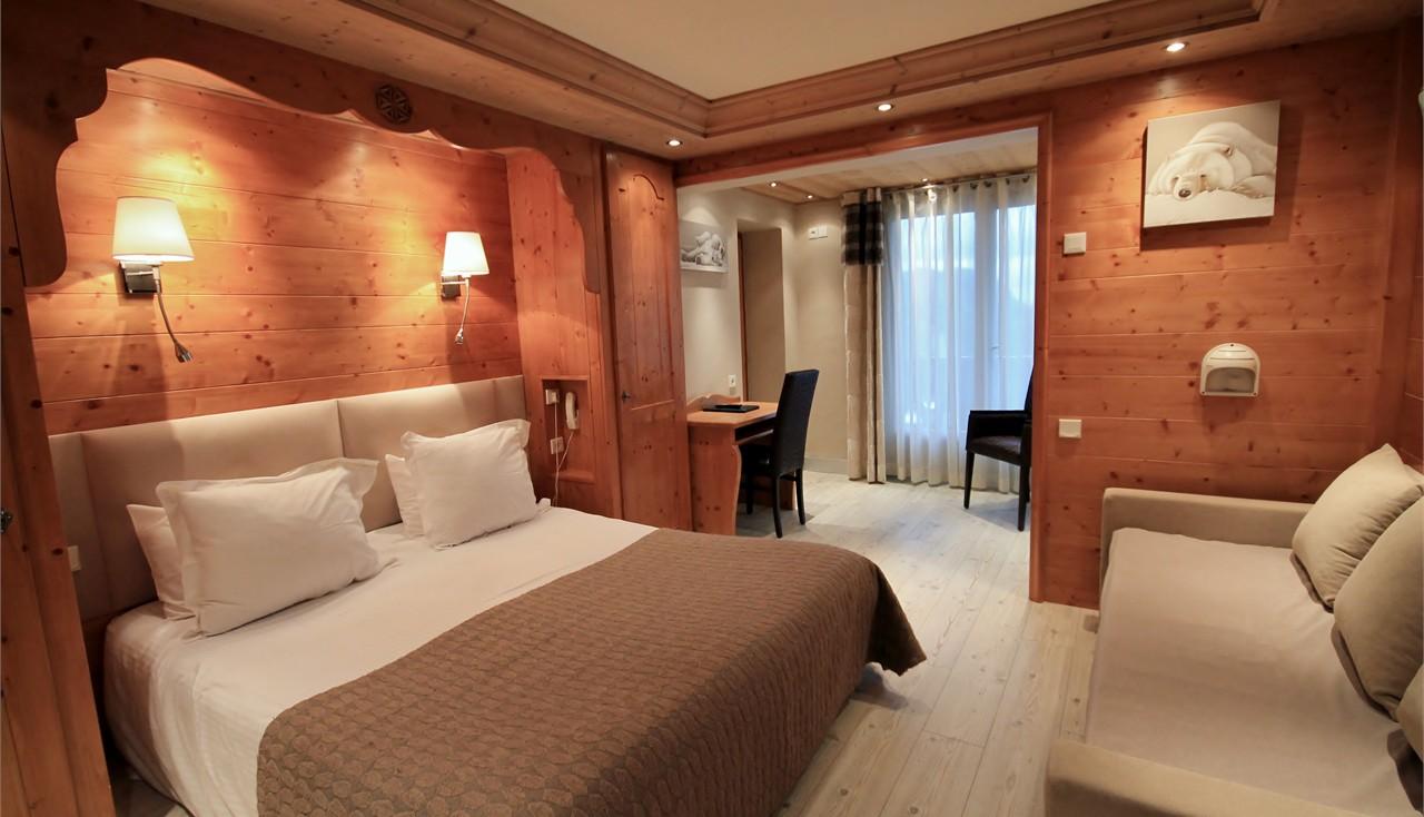 Hotel alpina chambre quadruple for Chambre quadruple